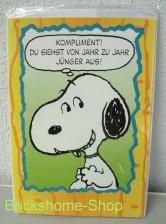 Peanuts   Geburtstagskarte Snoopy II, Brickshome Shop